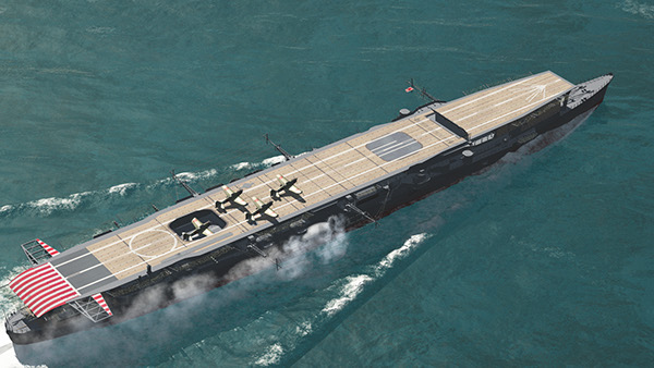 Imperial Japanese Navy's light Aircraft carriers on Behance