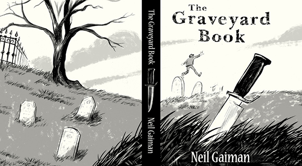 """book report for the graveyard book Raised from infancy by the ghosts, werewolves and other cemetery  review the graveyard book by neil gaiman there are few writers out there  his most recent work, the graveyard book, takes his standard """"a""""."""