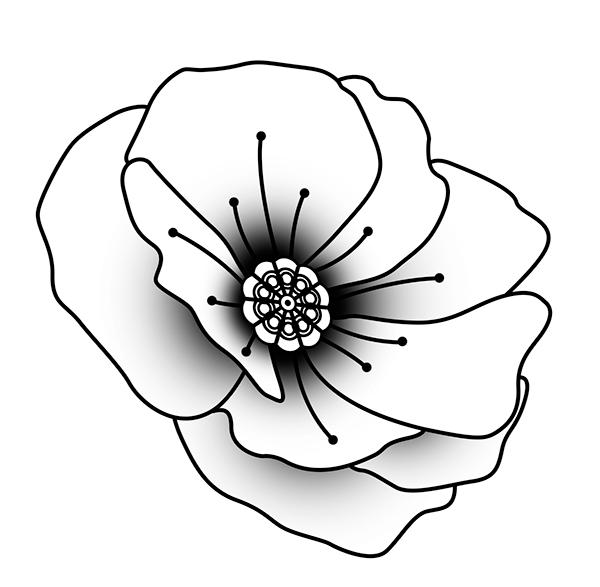 Black And White Poppy Tattoo Best Tattoo Ideas