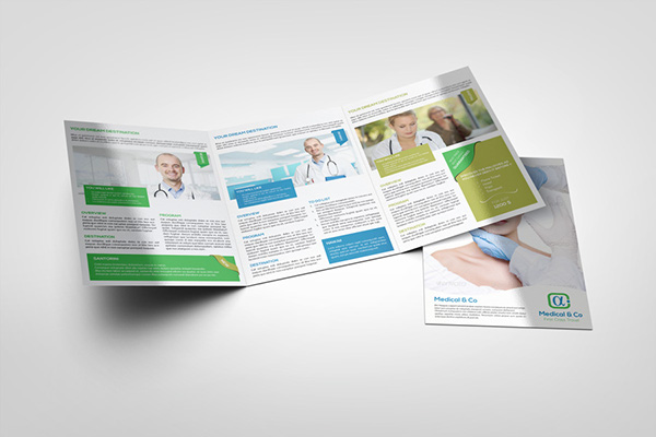 Multipurpose Tri-Fold Brochure Template On Behance