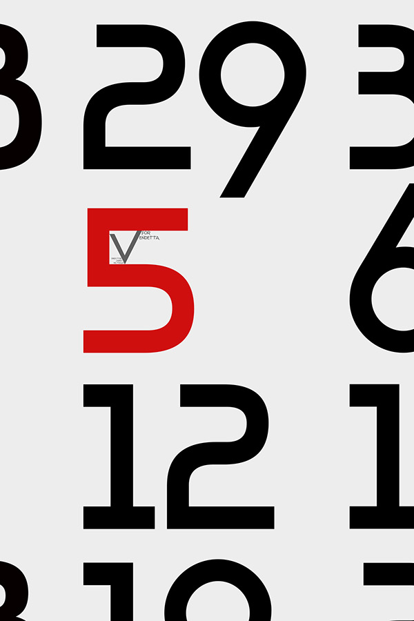 V For Vendetta Poster Quote Typographic Film Poste...