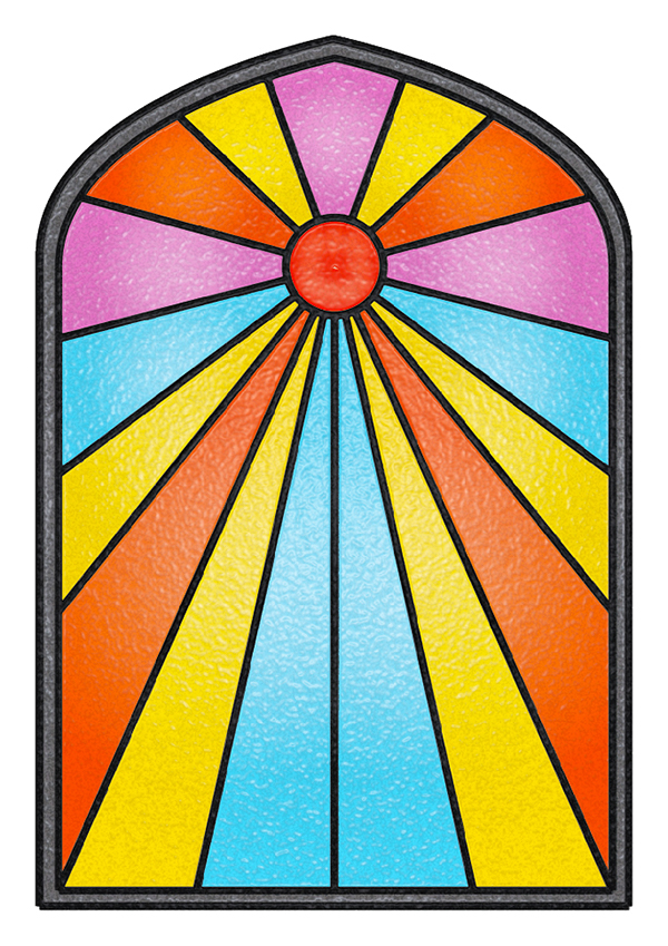 simple stained glass window designs wwwimgkidcom the