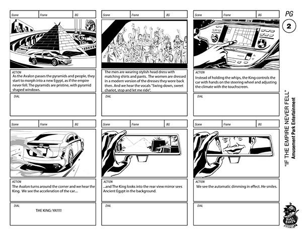 avalon Storyboards