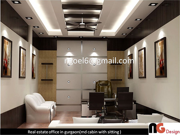 Real estate office on behance for Real estate office decor