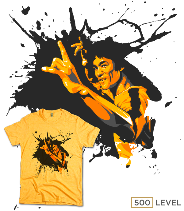 I have recently formed a partnership with 500 Level. A company that offers  officially licensed tees featuring Bruce Lee ef3eb7431