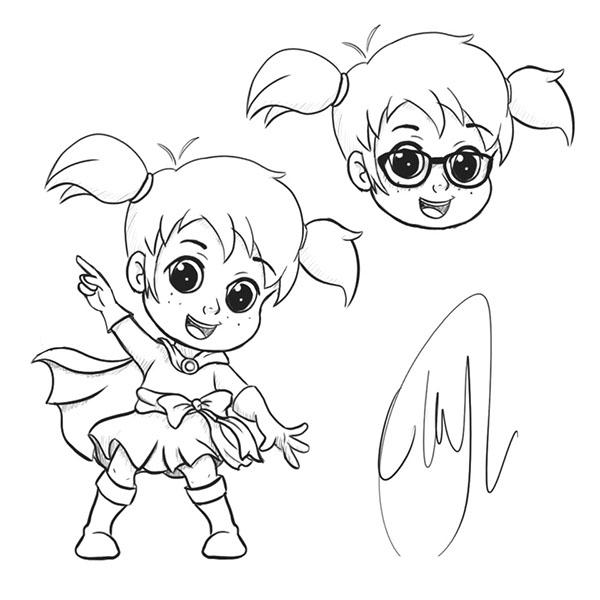 Character Design Brief : Mascot character design brief on pantone