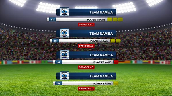Full Soccer TV Broadcast Package on Behance