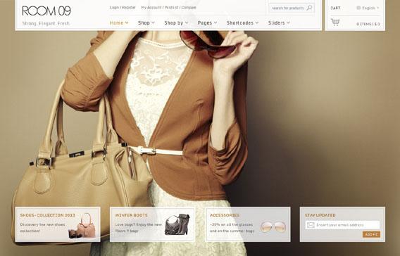 Room 09 Shop, WordPress Multi-Purpose e-Commerce Theme