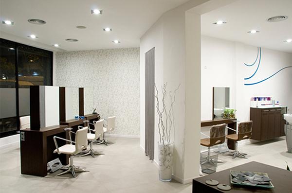 Dise o interior peluquer a aktual estilistes on behance - Diseno peluqueria ...