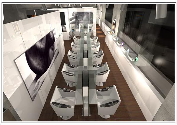 Revo new salon design on behance for Salon kerastase paris
