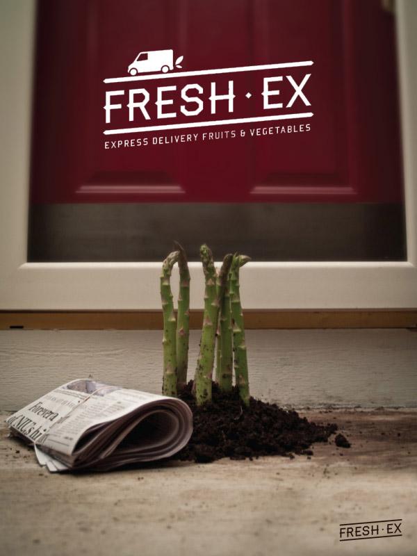 fresh  FOOD  Fruit  vegetable  delivery express Ex