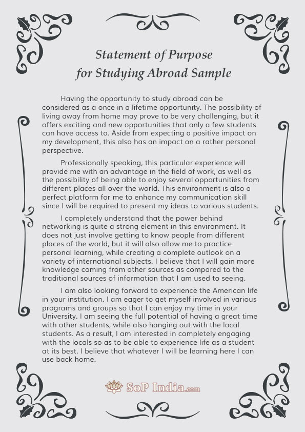 essay on studying abroad advantages