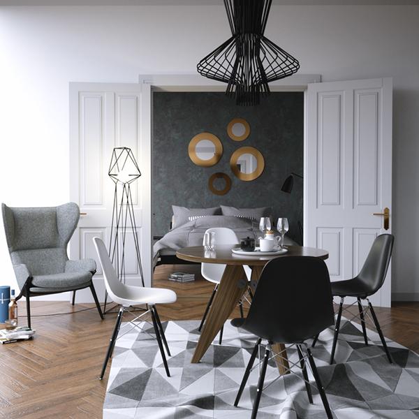 Apartment in riga on behance for Design apartment riga