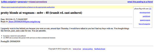 craigslist nh missed connections