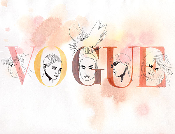 vogue Poster Design