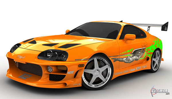 toyota supra the fast and the furious on behance. Black Bedroom Furniture Sets. Home Design Ideas