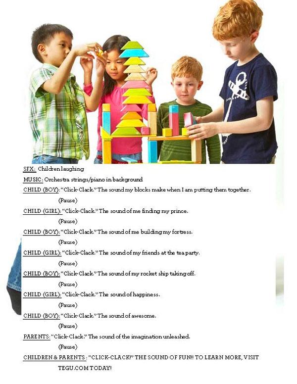 campaign kids toys LEGO tegu