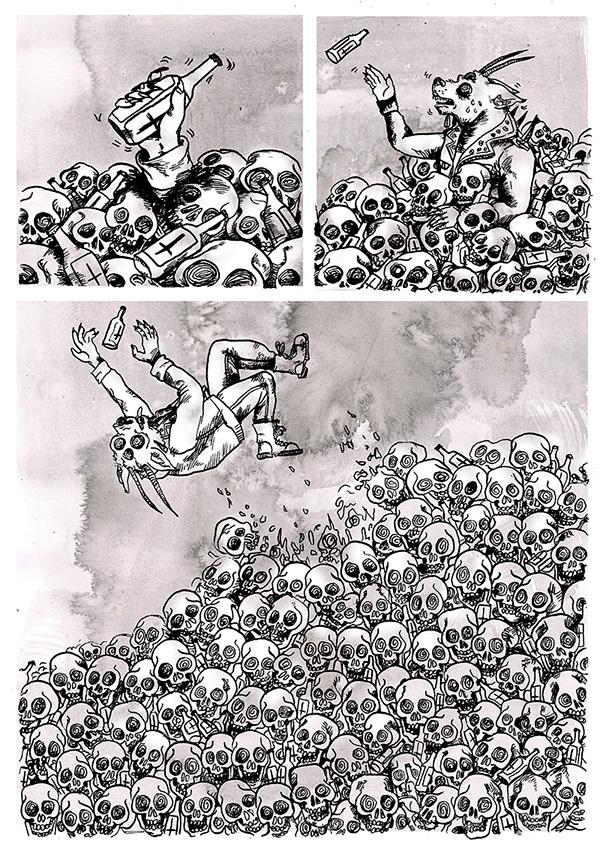 comics Sci Fi glitch art
