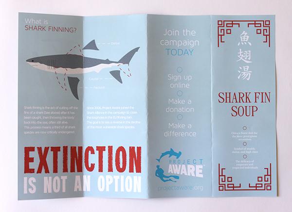 Shark Finning - Extinction is Not an Option! on Behance