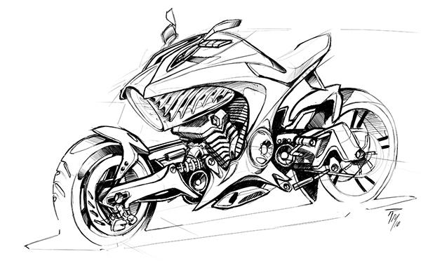 bmw air bike on behance
