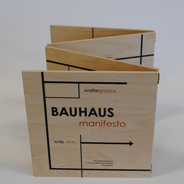 the bauhaus manifesto and design Home essays manifestos in design bauhaus manifesto called for a new architecture that made no distinction between monumental and decorative art.