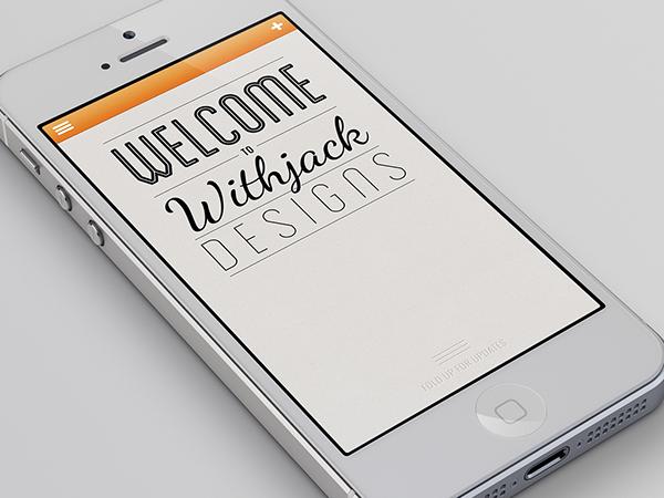portfolio iphone app on behance