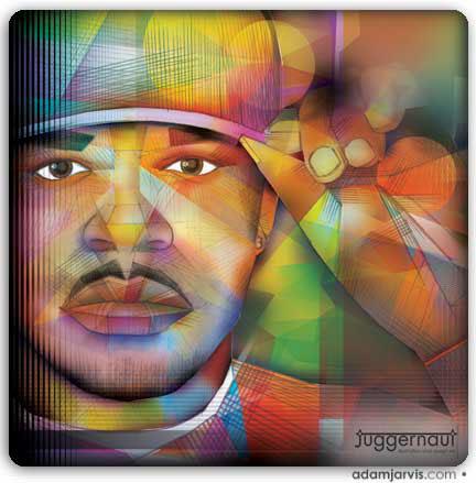 SoulFest iLive radio adam jarvis concert poster ILLUSTRATION  Music artist omar lyefook Sulpacio Jones loose ends