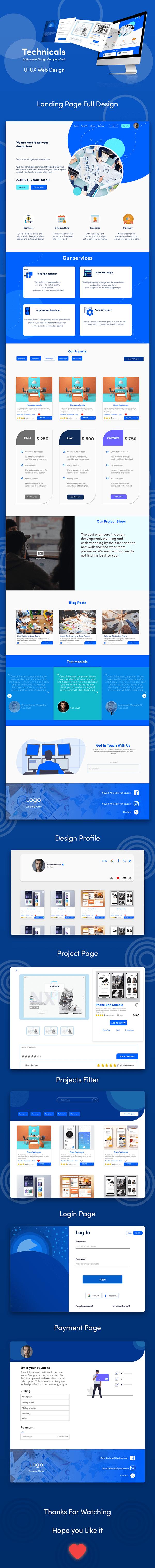 Technicals Company | UI UX Web Design