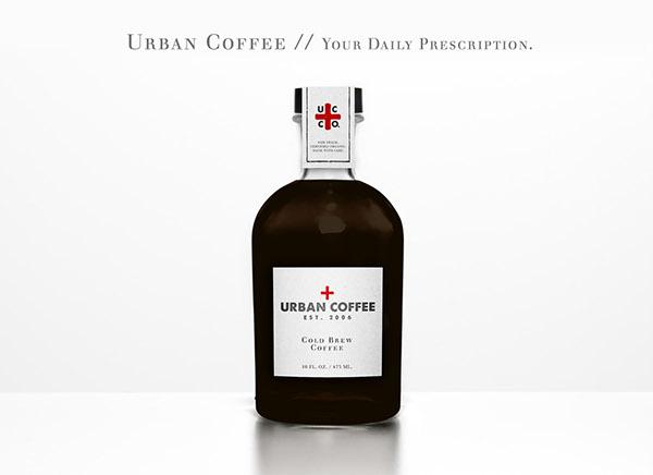 Urban Coffee Mousse Creative Rebrand