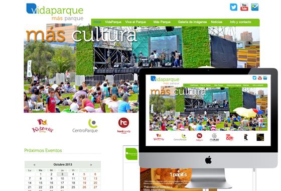 Parque Park Santiago chile