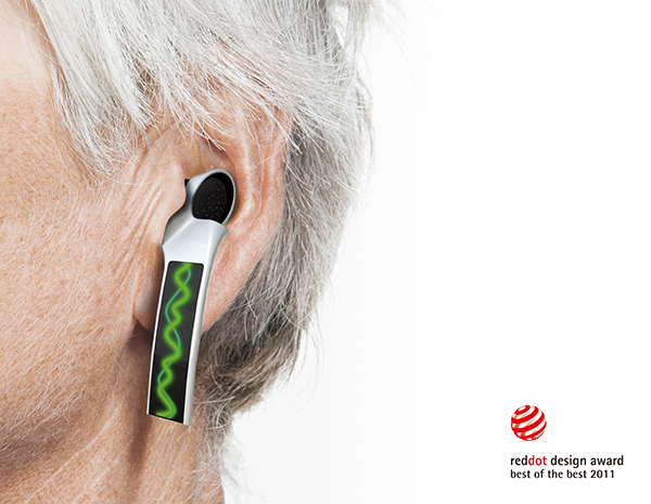 how to make a fake hearing aid