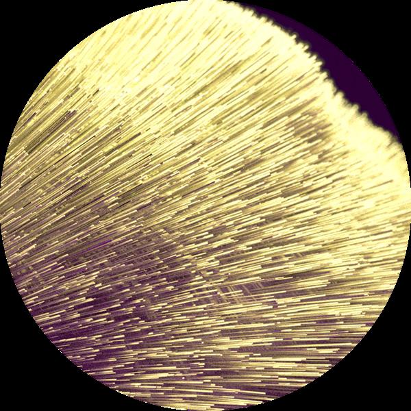 3D MAX Render violet yellow Needle