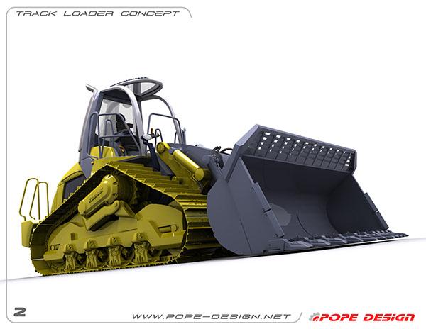 prototipo nuovo dumper minerario avvenieristico A6eea847492613.560806f85d82c