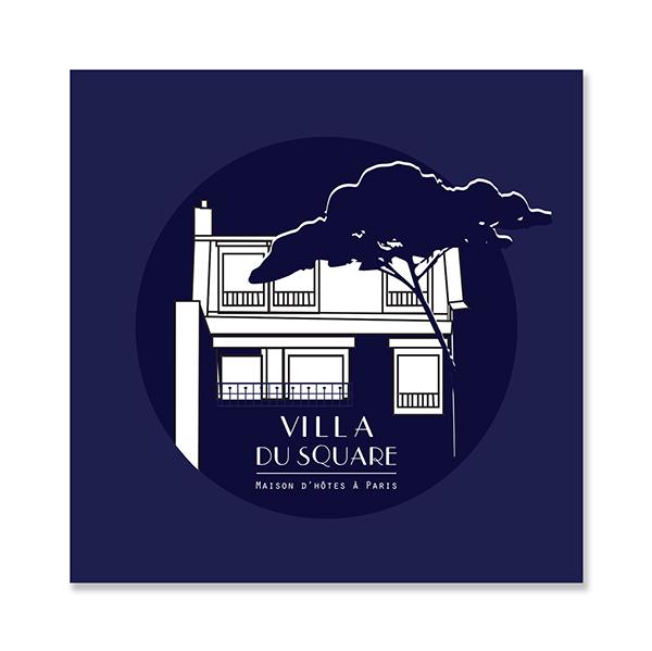 villa du square maison d 39 h te on behance. Black Bedroom Furniture Sets. Home Design Ideas