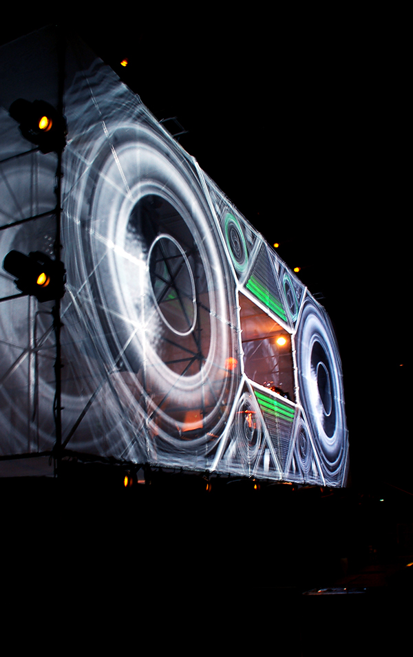 boom box vjing electro live report article music