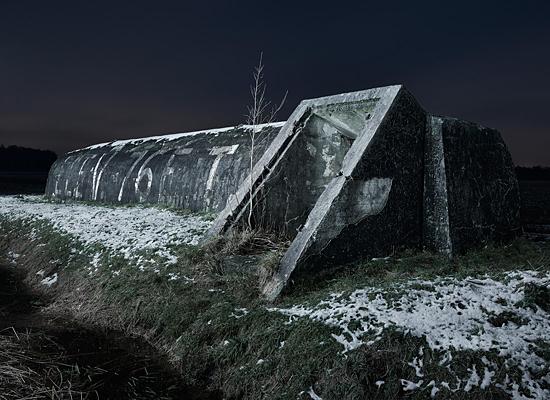 bunkers ww2 Europe dark DUSK night france belgium Holland The Netherlands structures exteriors Personal Work fortification War german
