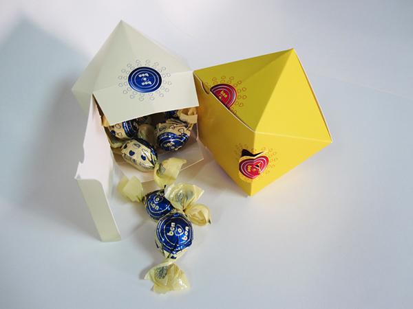 bon o bon chocolate package envase chile dual concept