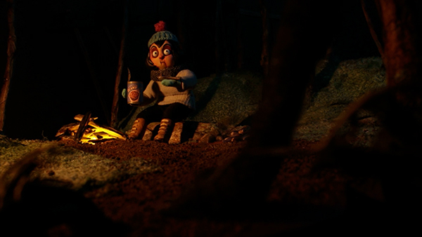 stop motion puppets forest beast