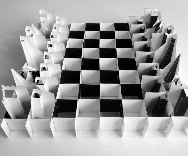 Pop Up Paper Chess Set On Behance