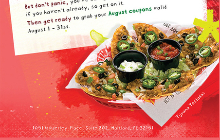 Tijuana flats coupon code