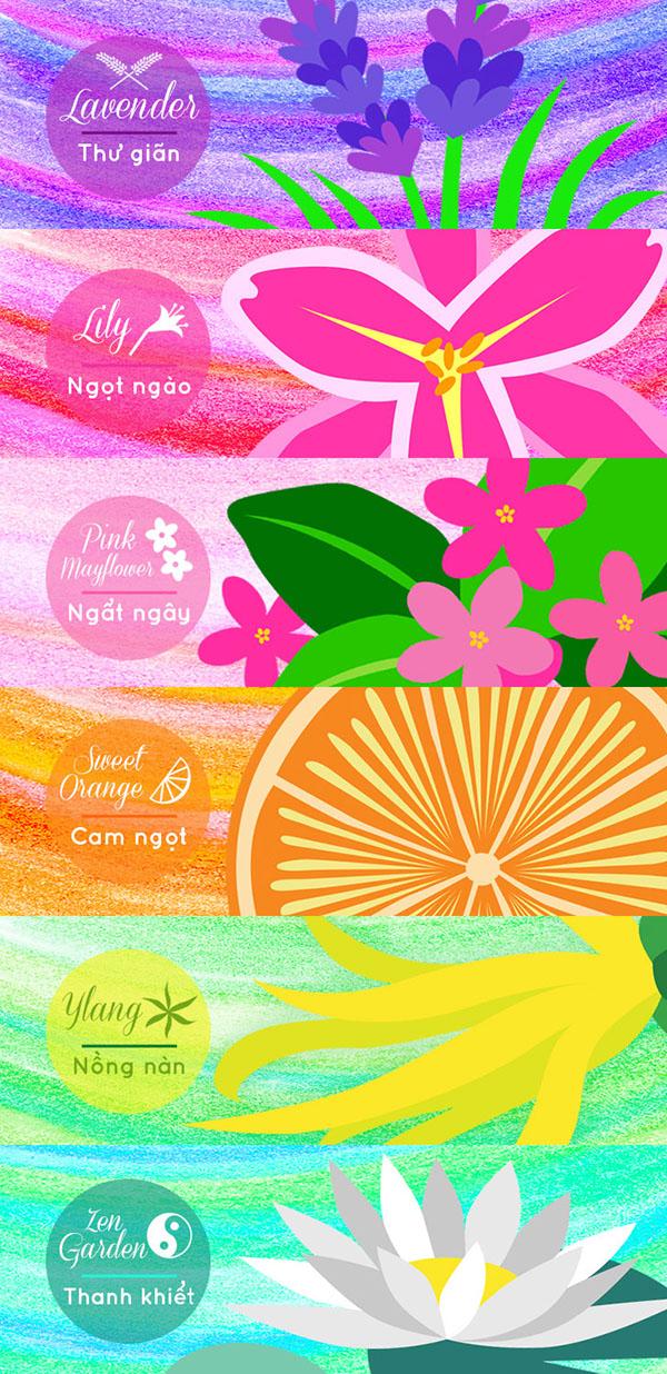 domestics scent fresh gel
