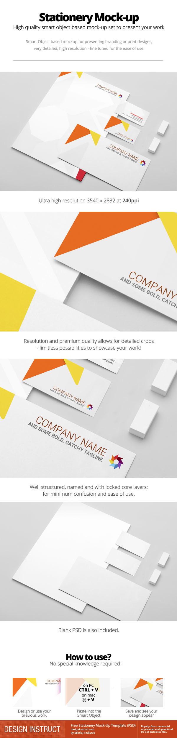 Mockup mock up mock-up stationery mockup stationery mock-up presentation portfolio Stationery branding mockup