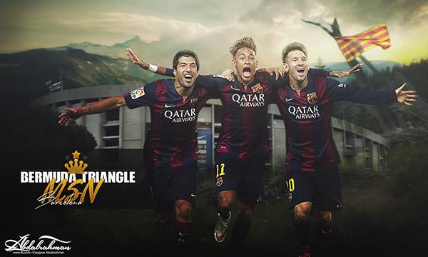 Wallpaper Messi Suarez Neymar Msn 2015 On Behance