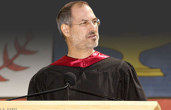 steve jobs standford graduation speech Steve jobs graduation speech but i naively chose a college that was almost as expensive as stanford and all of my working class parentsa savings were.