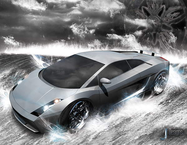Lamborghini Gallardo Poster On Behance