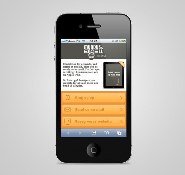 iPap iPad print mundus & engell DM Direct mail