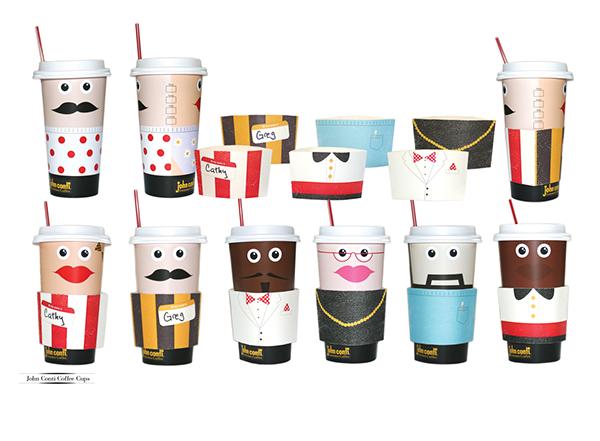 Coffee cup customizable