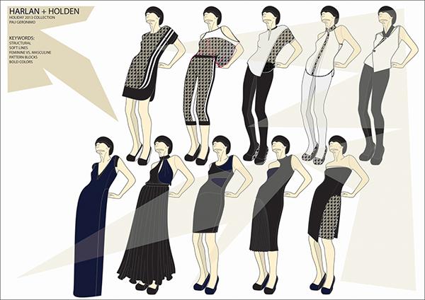 Fashion Illustrations Adobe Illustrator Photoshop On Student Show