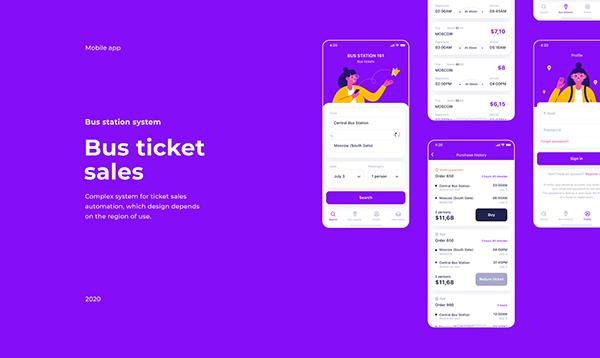 Bus Ticket Sales app