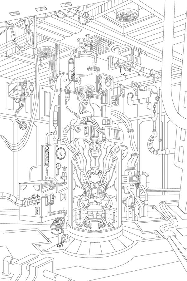 Time Machine Concept Art